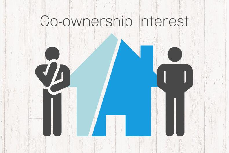 co‐ownership interest(共有持分)について考える人のアイコン